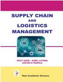 Supply Chain and Logistics Management PDF