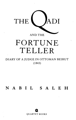 The Qadi and the Fortune Teller