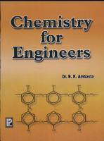 Chemistry for Engineers PDF