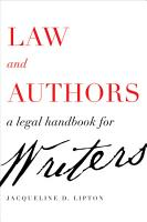 Law and Authors PDF