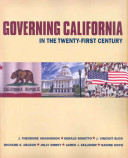 Governing California in the 21st Century PDF