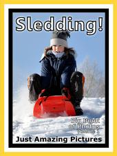 Just Sledding! vol. 1: Big Book of Snow Sleds Photographs & Snow Sledding Pictures