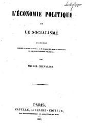 L'économie politique et le socialisme: discours