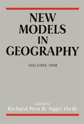 New Models In Geog: Volume 1