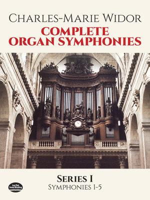 Complete organ symphonies PDF