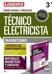 Técnico electricista 3 - Magnetismo: Curso visual y práctico