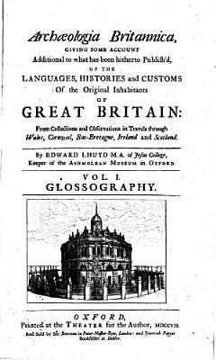 Archaeologia Britannica PDF