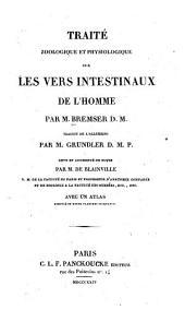 Traité zoologique et physiologique sur des vers intestinaux de l'homme