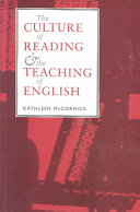 The Culture of Reading and the Teaching of English