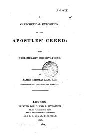 A catechetical exposition of the Apostles' creed