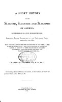 A Short History of the Slocums  Slocumbs and Slocombs of America PDF