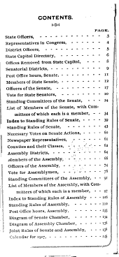 List of Members, Officers, Committees and Attaches and the Rules of the Two Houses of the California Legislature