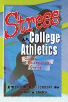 Stress in College Athletics PDF