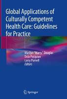 Global Applications of Culturally Competent Health Care  Guidelines for Practice PDF