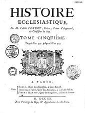 Histoire ecclésiastique de Claude Fleury
