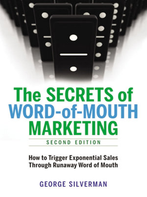 The Secrets of Word of Mouth Marketing PDF