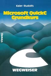 Microsoft QuickC-Wegweiser Grundkurs