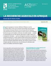 La recherche agricole en Afrique: Investir dans les futures récoltes: Synopsis