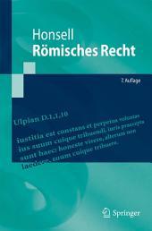 Römisches Recht: Ausgabe 7