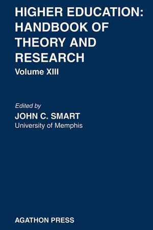 Higher Education  Handbook of Theory and Research 13 PDF