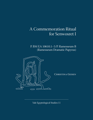 A Commemoration Ritual for Senwosret I PDF