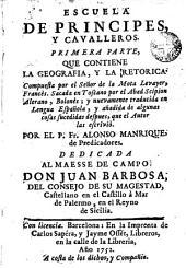 Escuela de principes y cavalleros, 1