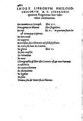 Philosophici libri: ... Quae Continet, De officiis libros treis. 3