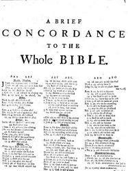 A Brief Concordance or Table to the Bible     Carefully perused and enlarged by John Downame PDF