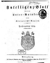 Intelligenzblatt für den Unter-Mainkreis des Königreichs Bayern: 1829, 1