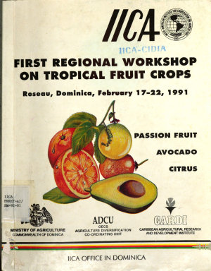 First regional workshop on tropical fruit crops