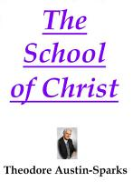 The School of Christ PDF