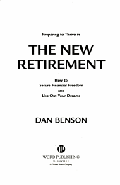 Preparing to Thrive in the New Retirement PDF