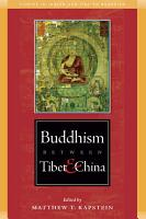 Buddhism Between Tibet and China PDF