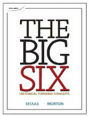 The Big Six Historical Thinking Concepts Book