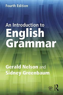 An Introduction to English Grammar PDF