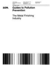Metal Finishing Industry PDF