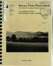 Buena Vista Watershed Plan: Environmental Impact Statement