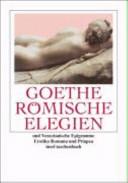 R  mische Elegien und Venezianische Epigramme PDF