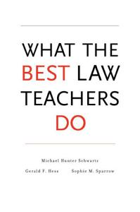 What the Best Law Teachers Do Book