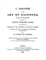 A Treatise on the Art of Painting  in All Its Branches PDF