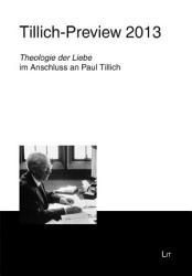 Tillich Preview 2013 PDF