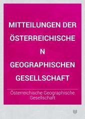 Mitteilungen der Österreichischen Geographischen Gesellschaft: Band 21