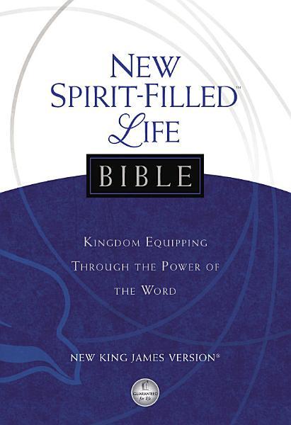 Download NKJV  New Spirit Filled Life Bible  eBook Book