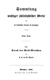 Der Dienst des Geist-Menschen: aus dem Franz