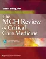 The MGH Review of Critical Care Medicine PDF