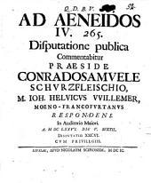 Commentatio ad Aeneidos IV. 265