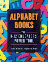 Alphabet Books  The K   12 Educators  Power Tool PDF