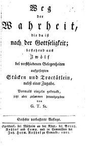 Leben heiliger Seelen: Auszug aus Tersteegen's auserlesene Lebensbeschreibungen, Band 2