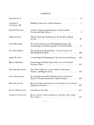 Journal of the American Research Center in Egypt PDF