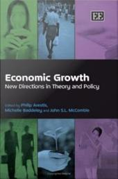 Economic Growth: New Directions in Theory and Policy